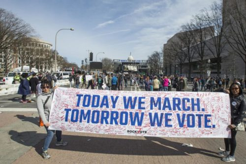 March for our lives, a moment becomes a movement