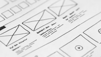 product design template